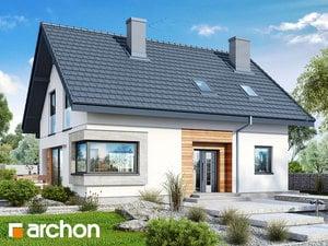Проект дома ARCHON+ Дом в изумрудах