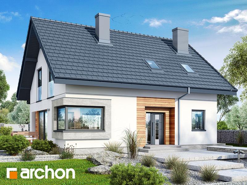 Проект дома ARCHON+ Дом в изумрудах - Визуализация 1