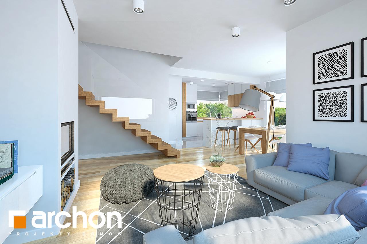 Проект дома ARCHON+ Дом в изумрудах - Интерьеры
