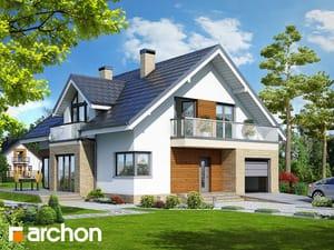 Проект дома ARCHON+ Дом в тимьяне 5 TERMO