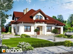 Проект дома ARCHON+ Дом в тимьяне 4