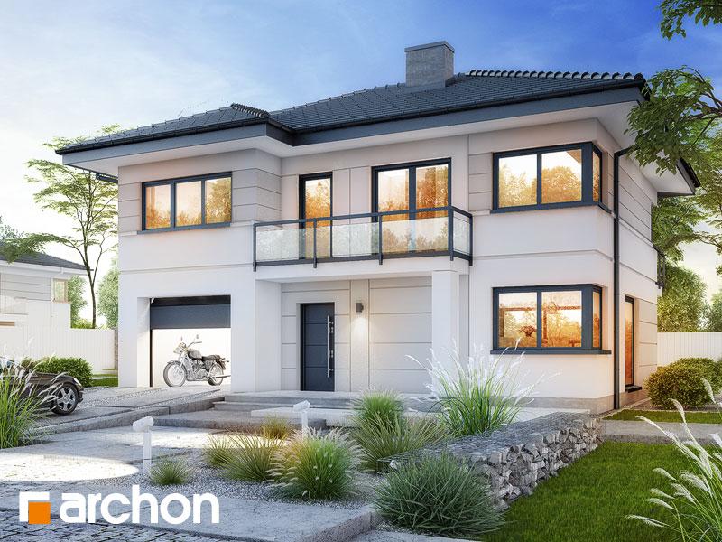 Проект дома ARCHON+ Вилла Констанция - Визуализация 1