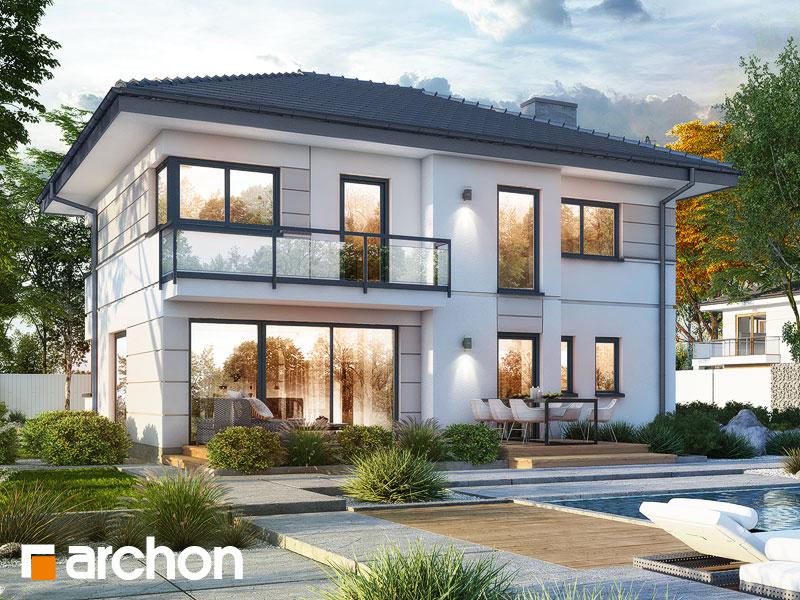 Проект дома ARCHON+ Вилла Констанция - Визуализация 2