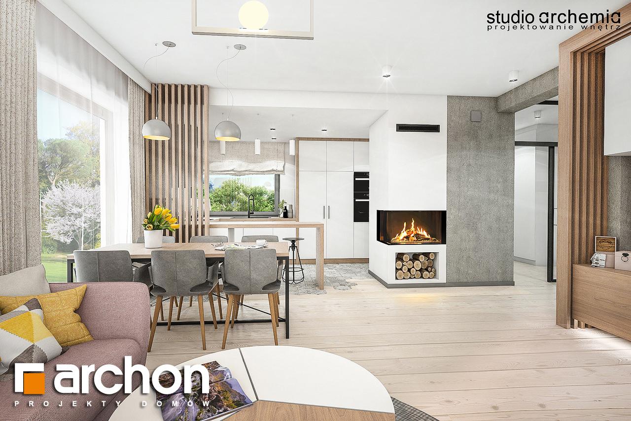 Проект дома ARCHON+ Вилла Констанция - Интерьеры