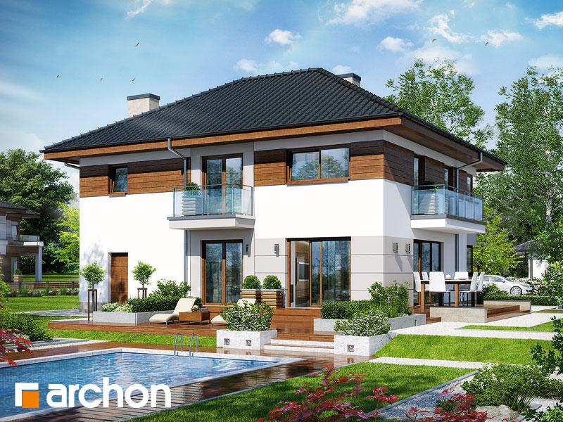 Проект дома ARCHON+ Вилла Эмма - Визуализация 1