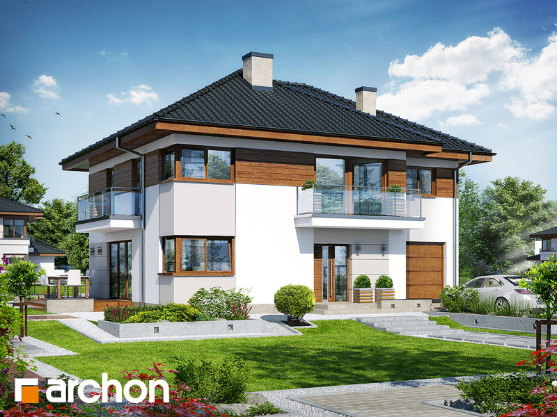 Проект дома ARCHON+ Вилла Эмма - Визуализация 2