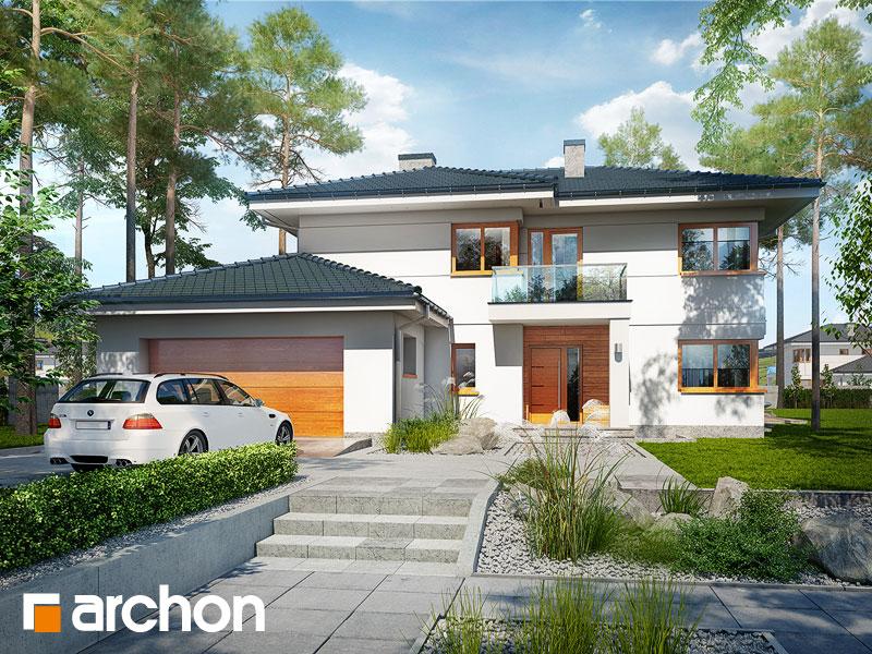 Проект дома ARCHON+ Вилла Оливия 3 (Г2П) - Визуализация 2