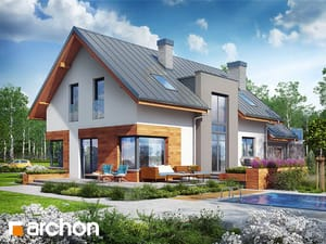 Проект дома ARCHON+ Дом в молиниях (Г2)