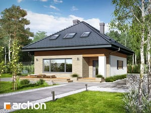 Проект дома ARCHON+ Дом в сирени (М)