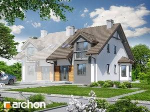 Проект дома ARCHON+ Дом в дельфиниуме 2 ver.2