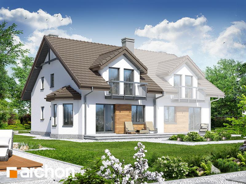 Проект дома ARCHON+ Дом в дельфиниуме 2 ver.2 - Визуализация 2