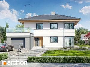 Проект дома ARCHON+ Вилла Сюзанна