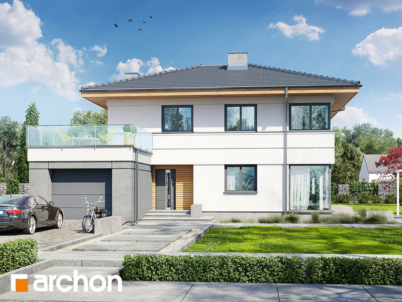 Проект дома ARCHON+ Вилла Сюзанна - Визуализация 1