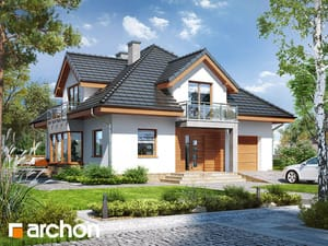 Проект дома ARCHON+ Дом в тимьяне 3 (Н)