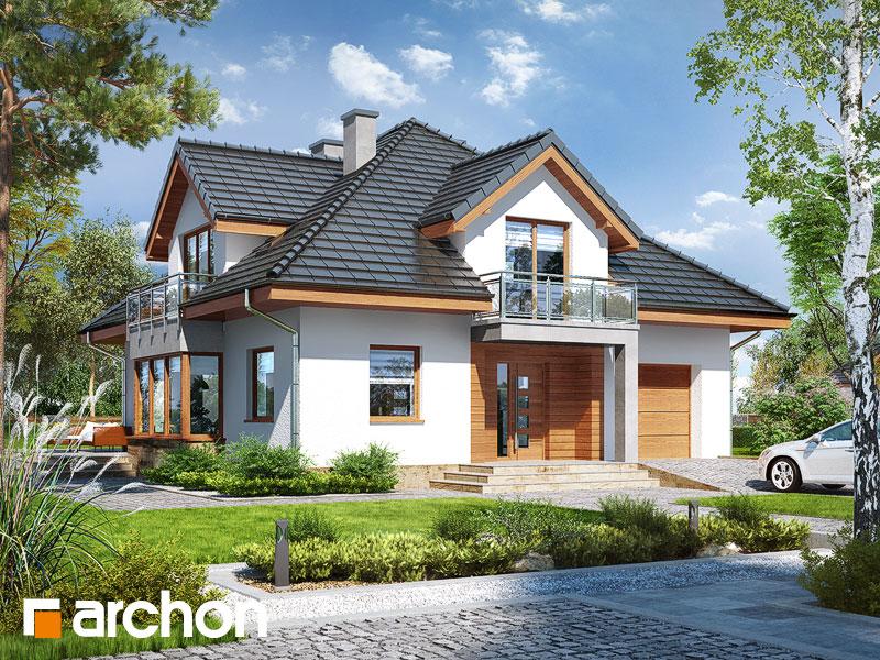 Проект дома ARCHON+ Дом в тимьяне 3 (Н) - Визуализация 1