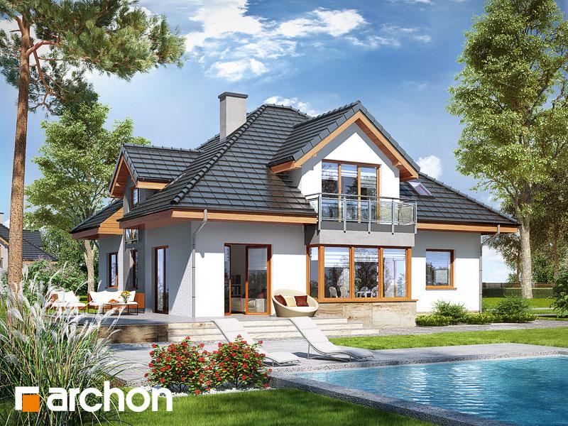 Проект дома ARCHON+ Дом в тимьяне 3 (Н) - Визуализация 2