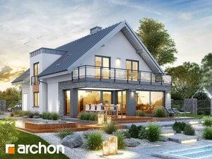 Проект дома ARCHON+ Дом в червени (Г2)