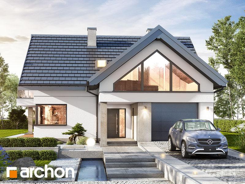 Проект дома ARCHON+ Дом в теллимах (Г) - Визуализация 1