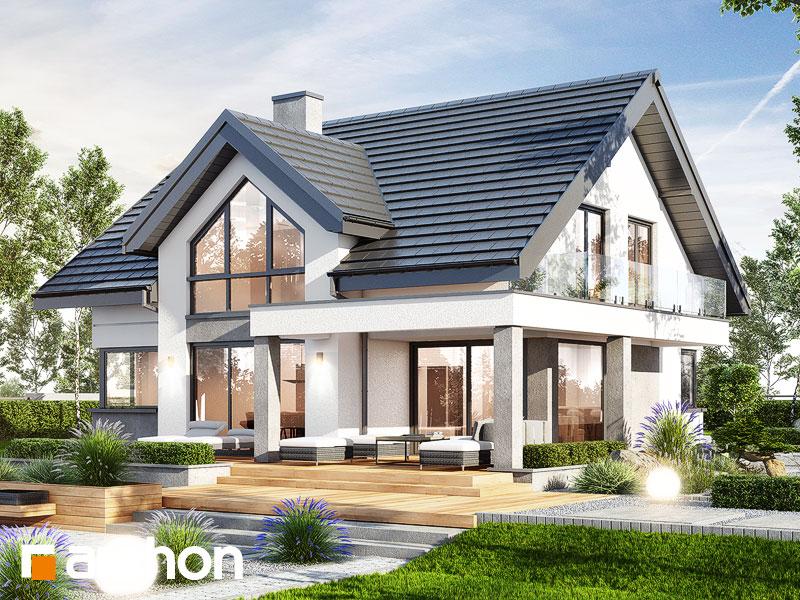 Проект дома ARCHON+ Дом в теллимах (Г) - Визуализация 2