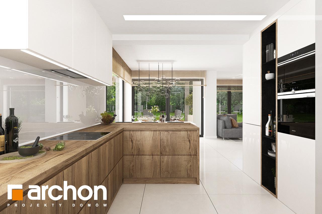 Проект дома ARCHON+ Дом в теллимах (Г) - Интерьеры