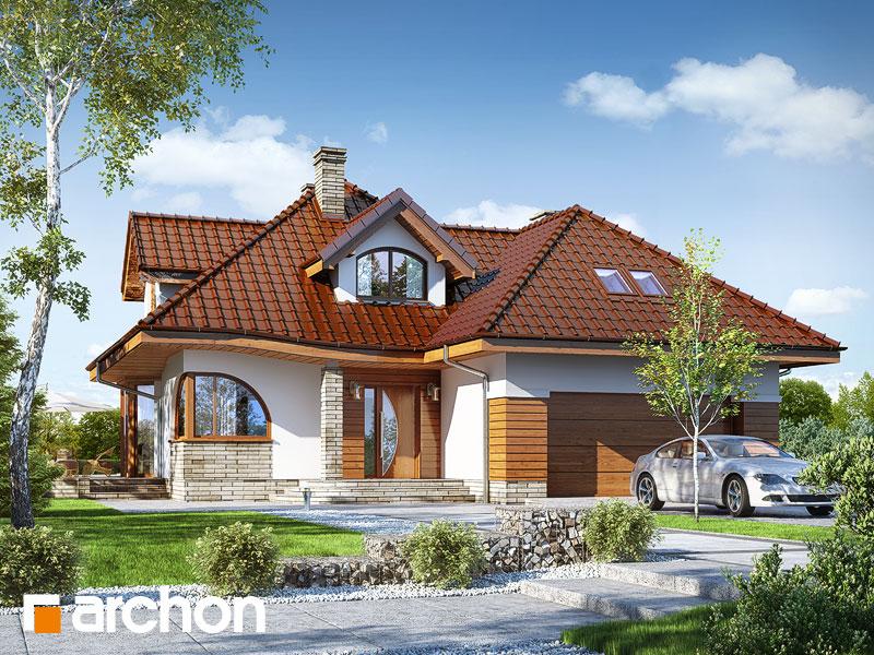 Проект дома ARCHON+ Дом в зефирантесе 2 (Г2) - Визуализация 1