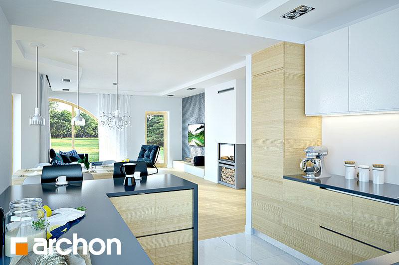 Проект дома ARCHON+ Дом в зефирантесе 2 (Г2) - Интерьеры
