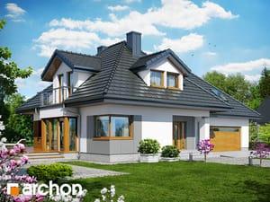 Проект дома ARCHON+ Дом в чернушке 2 (Г2) ver.2