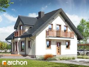 Проект дома ARCHON+ Дом в рододендронах 5 (В) ver.2