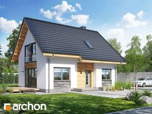 Проект дома ARCHON+ Дом в хлорофитуме 3 (T)