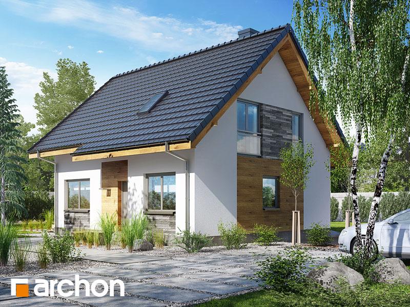 Проект дома ARCHON+ Дом в хлорофитуме 3 (T) - Визуализация 2