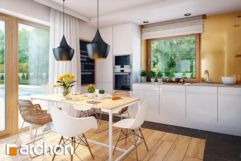 Проект дома ARCHON+ Дом в хлорофитуме 3 (T) - Интерьеры