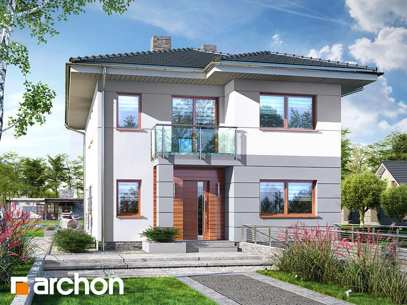 Проект дома ARCHON+ Вилла Юлия 8 (П) - Визуализация 1
