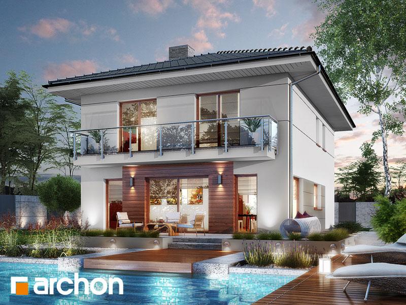 Проект дома ARCHON+ Вилла Юлия 8 (П) - Визуализация 2