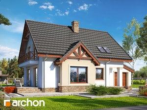 Проект дома ARCHON+ Дом в мандаринках (Г)