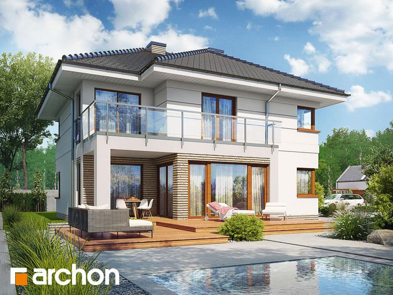 Проект дома ARCHON+ Вилла Элиза 4 (Г2) - Визуализация 1