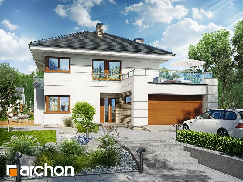 Проект дома ARCHON+ Вилла Элиза 4 (Г2) - Визуализация 2