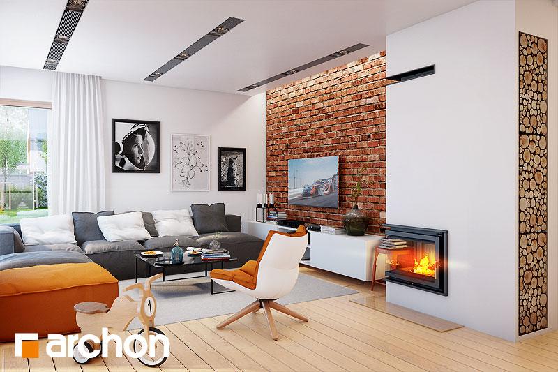 Проект дома ARCHON+ Вилла Элиза 4 (Г2) - Интерьеры