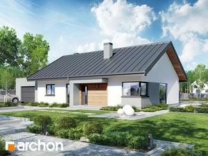 Проект дома ARCHON+ Дом под красной рябиной 8 (ГН)