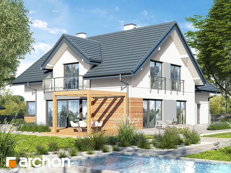 Проект дома ARCHON+ Дом в гортензиях 2 (Г2) - Визуализация 2