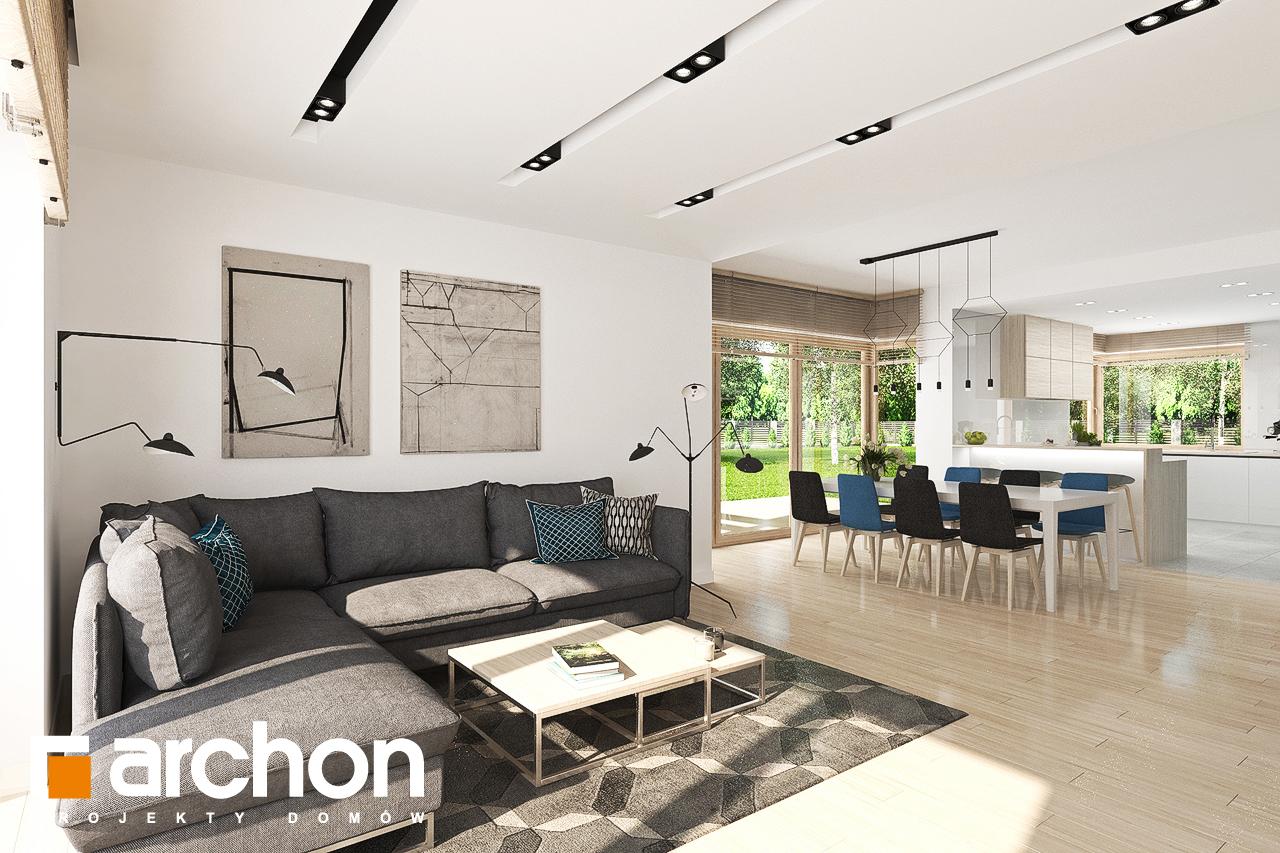 Проект дома ARCHON+ Дом в гортензиях 2 (Г2) - Интерьеры