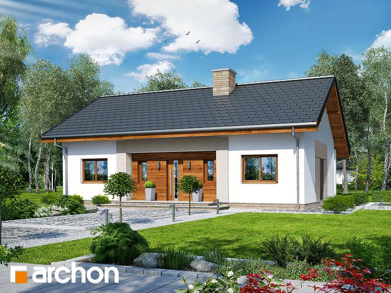 Проект дома ARCHON+ Дом в овсянницах - Визуализация 1