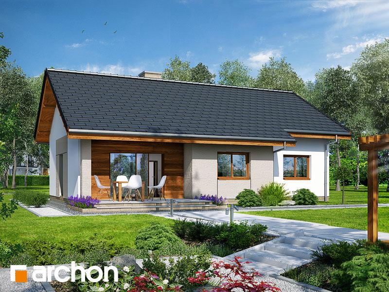 Проект дома ARCHON+ Дом в овсянницах - Визуализация 2