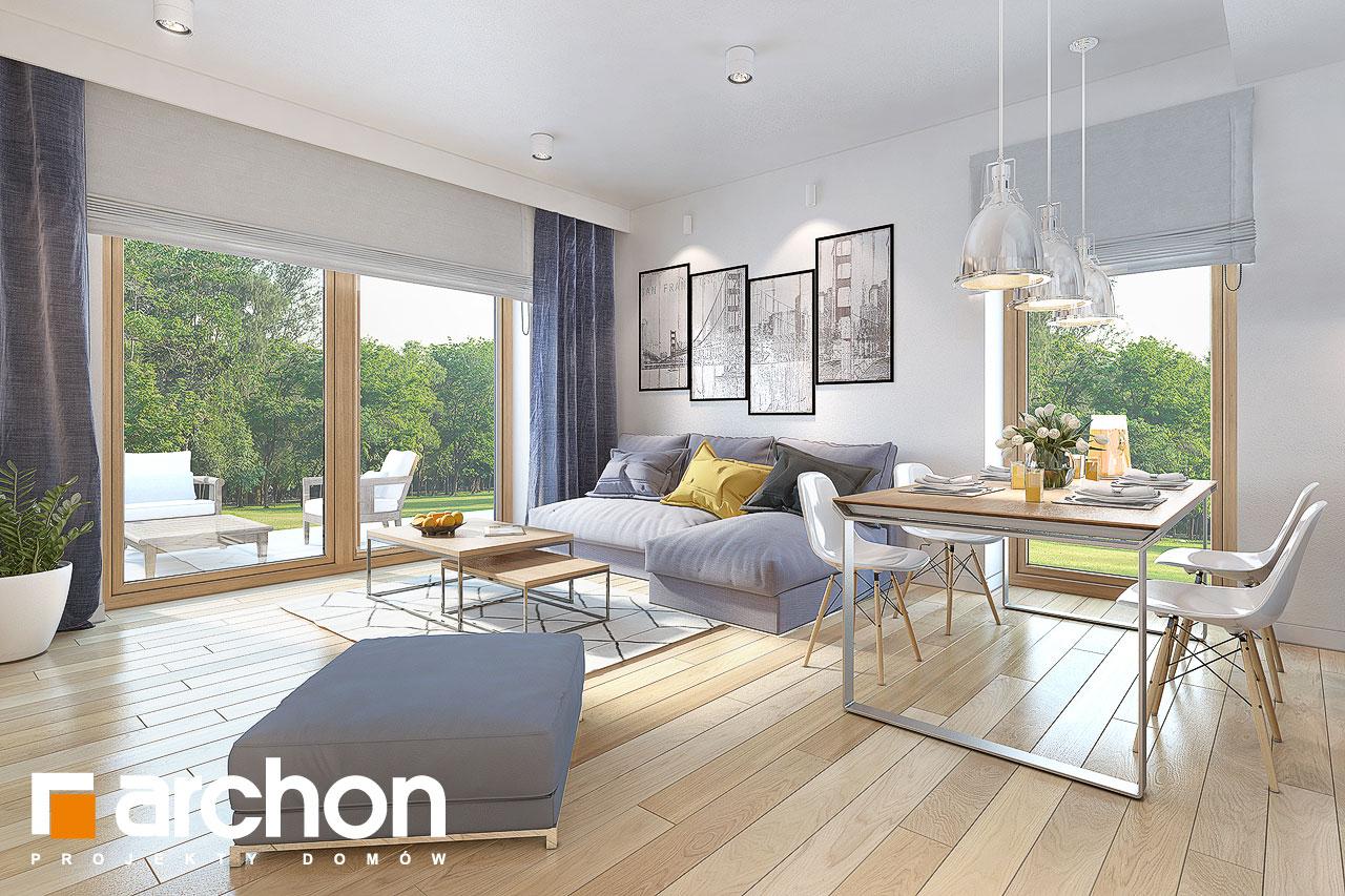 Проект дома ARCHON+ Дом в овсянницах - Интерьеры