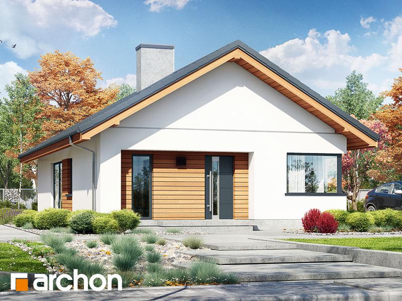 Проект дома ARCHON+ Дом под апельсином (СМ) - Визуализация 2