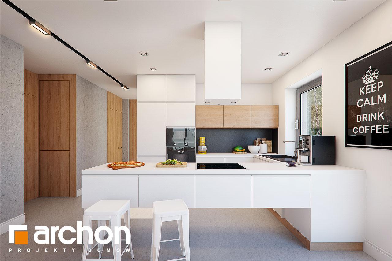 Проект дома ARCHON+ Дом под апельсином (СМ) - Интерьеры