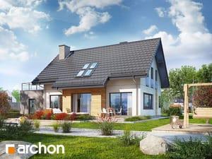 Проект дома ARCHON+ Дом в хостах