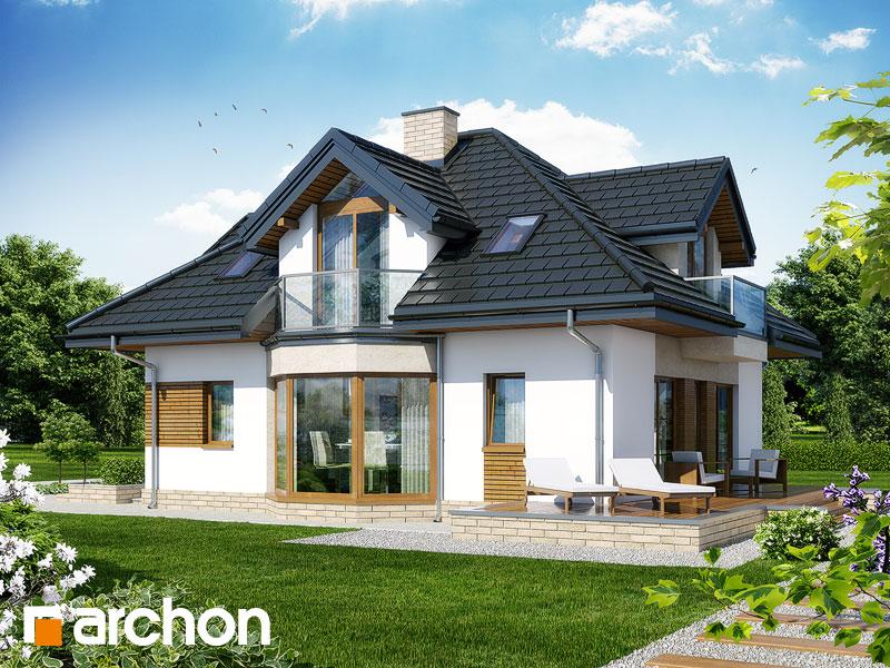 Проект дома ARCHON+ Дом под каркасом (H) ver.2 - Визуализация 2