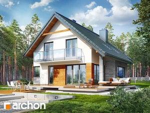 Проект дома ARCHON+ Дом в аурорах2