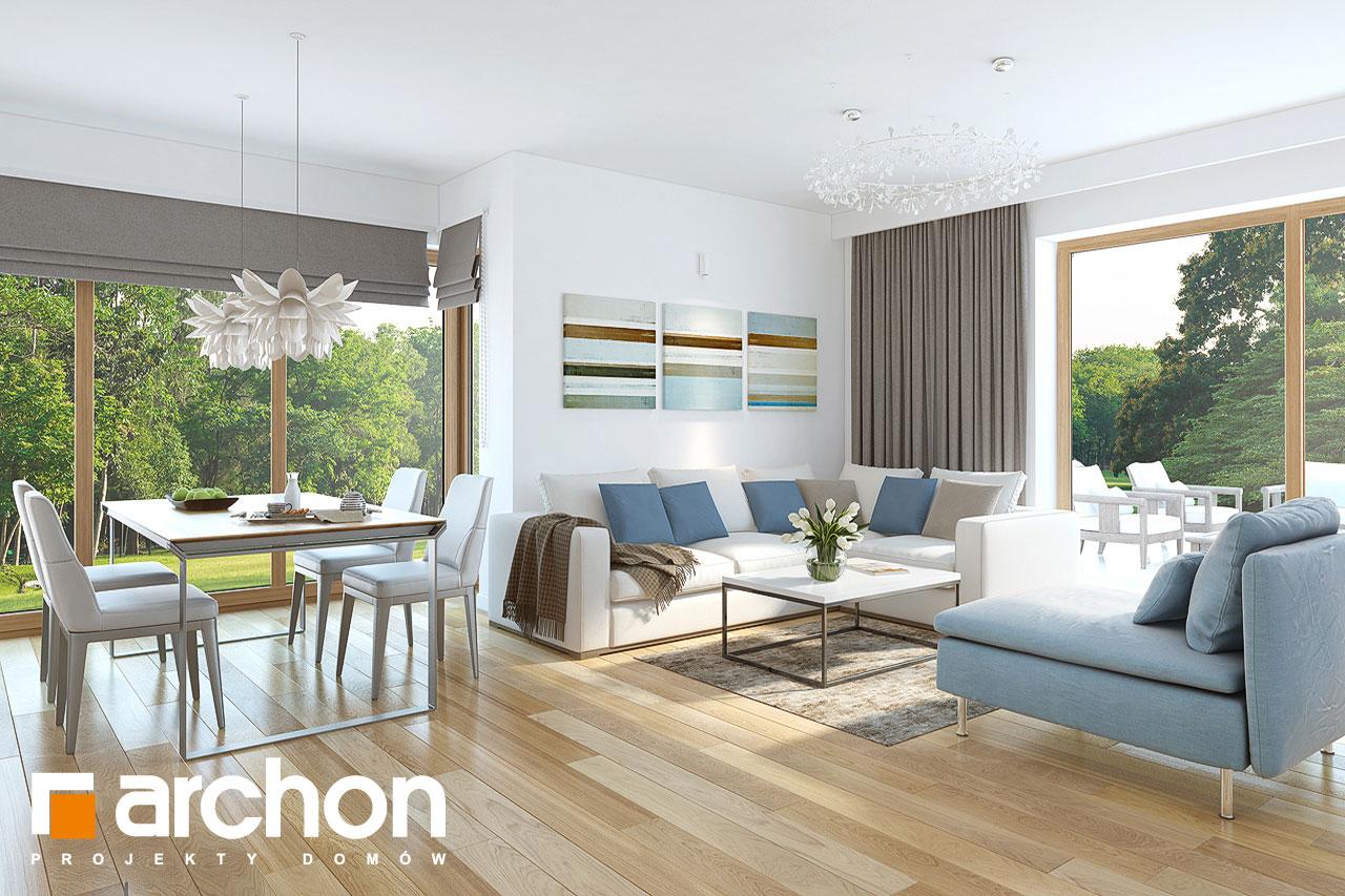 Проект дома ARCHON+ Дом в нектаринах (H) - Интерьеры