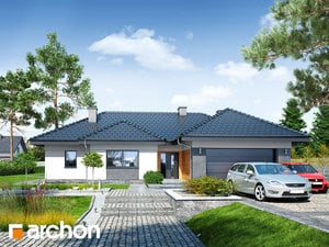Проект дома ARCHON+ Дом в навлоциях (Г2)